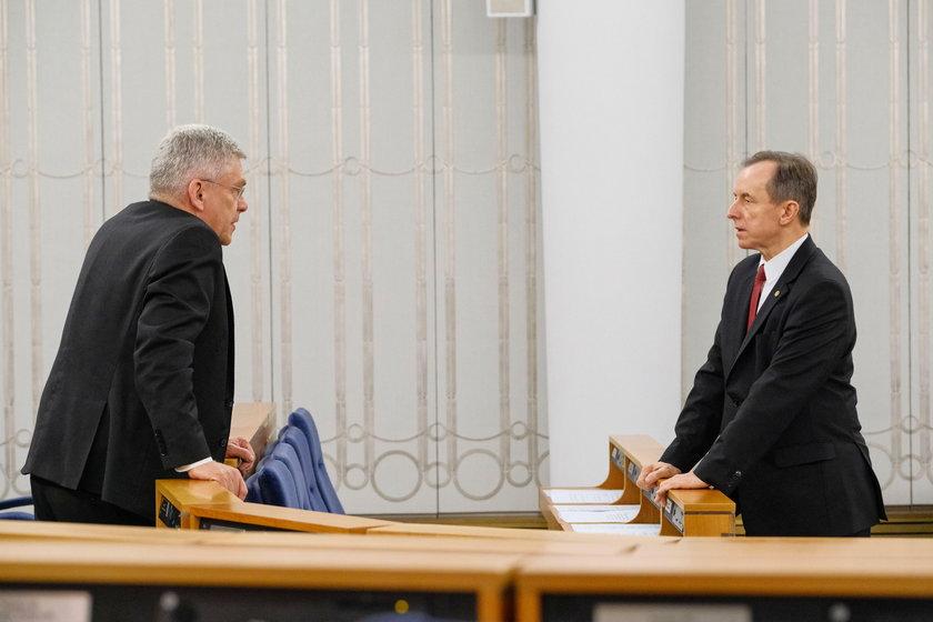 Stanisław Karczewski i Tomasz Grodzki