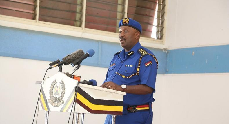Inspector General Hillary Mutyambai names Kakamega traffic police as the best in the country