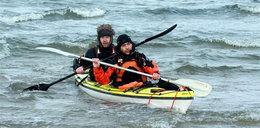 Przepłynęliśmy Bałtyk kajakami. FOTO