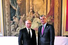 PRVA REAKCIJA KREMLJA Šta je Putin rekao Tačiju u Parizu