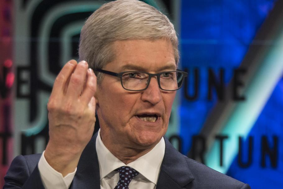 Prezes Apple Tim Cook