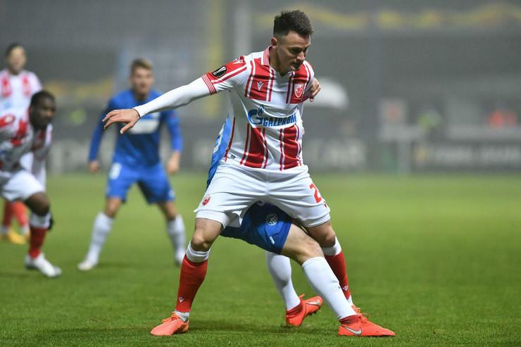 Detalj sa meča Slovan Liberec - FK Crvena zvezda