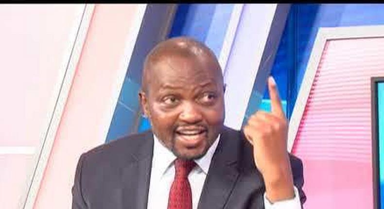Moses Kuria's rude response to Waititu's drunk comment leaves Inooro TV presenter in shock
