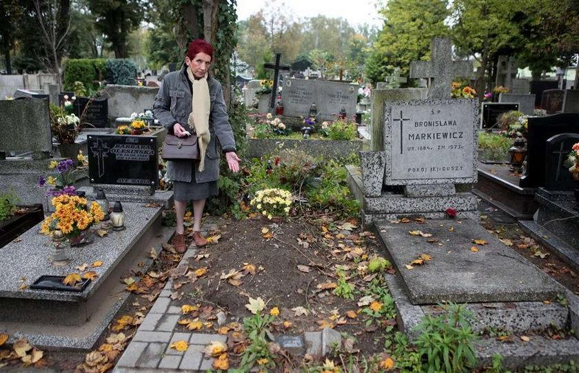Kto ukradł grób mojego taty?