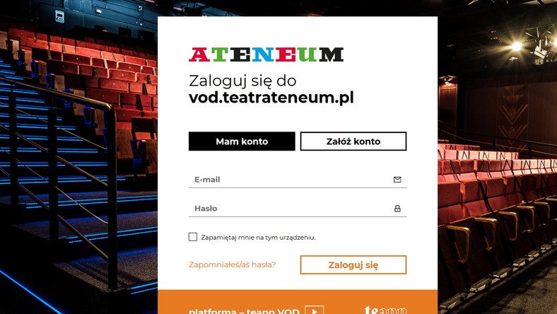 VOD Teatru Ateneum