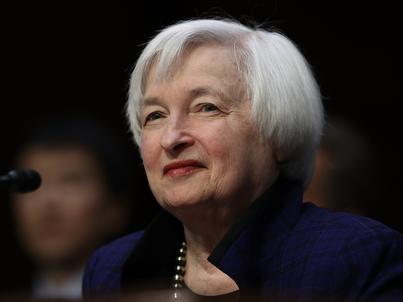 Szefowa rezerwy federalnej - Janet Yellen