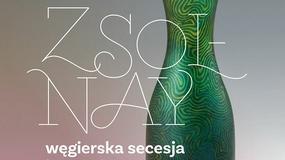 MCK w Krakowie: pierwsza w Polsce prezentacja ceramiki z węgierskiej manufaktury Zsolnay