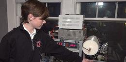 12-latek zbudował w pokoju reaktor jądrowy