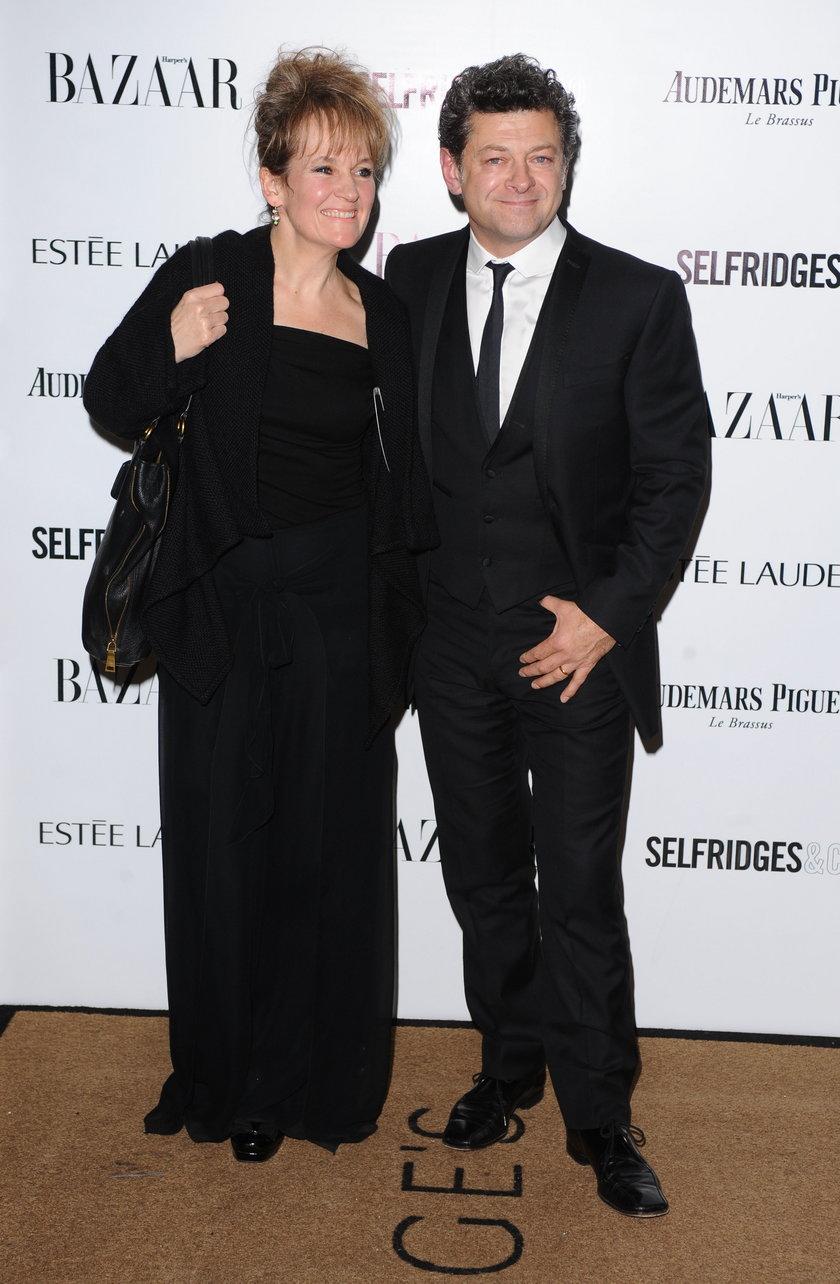 Lorraine Ashbourne i Andy Serkis