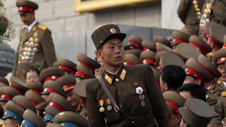 Żołnierze Korei Północnej, fot. Reuters