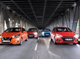 Ford Fiesta kontra Hyundai i20, Nissan Micra i Mini - szukamy najlepszego miejskiego auta