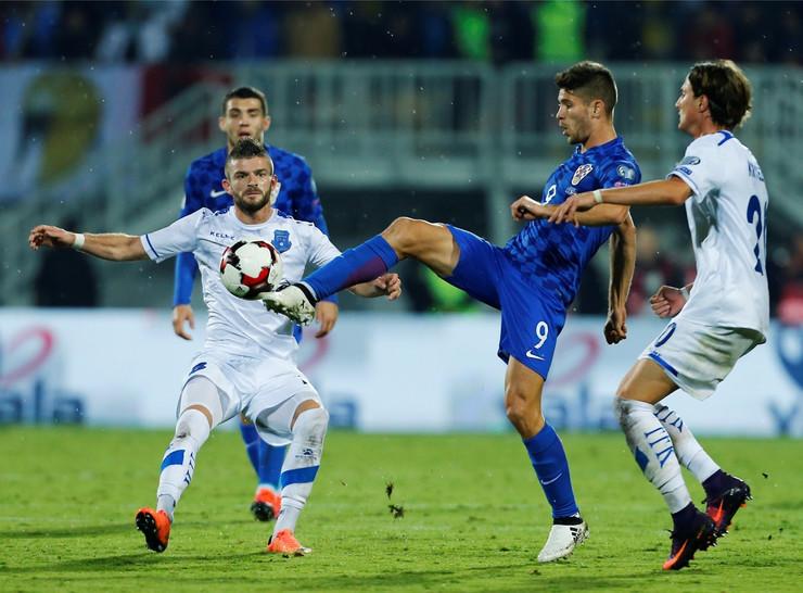 Fudbalska reprezentacija Hrvatske, Fudbalska reprezentacija Kosova