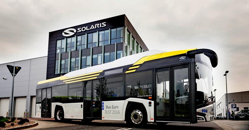 Solaris pozostał liderem polskiego rynku autobusów miejskich - jego udziały wynoszą 51 proc.