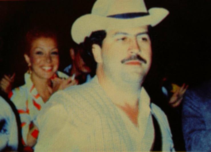 Pablo Eskobar i njegova ljubavnica Virhinija Valjeho