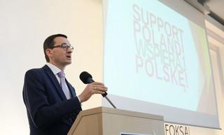 Morawiecki: Najbardziej naturalne byłoby zniesienie limitu składek na ZUS od 2019 r.