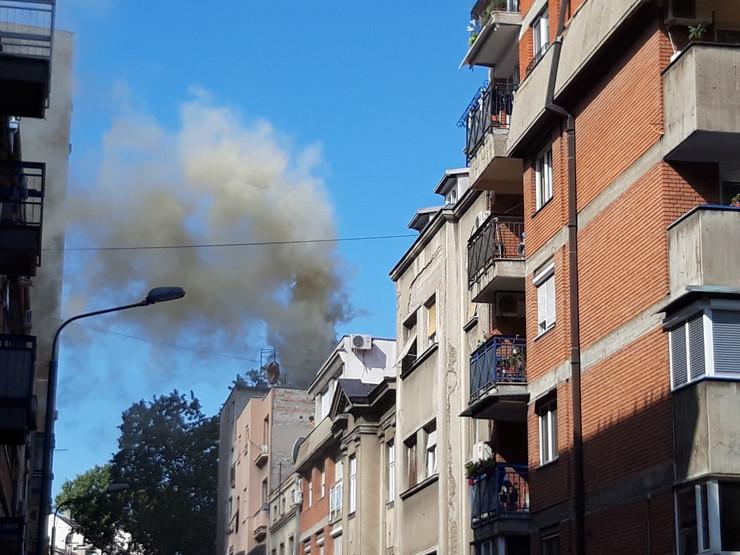 Požar, restoran Trandafilović, Makenzijeva