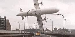 Samolot runął po starcie, bo pilot wyłączył silnik