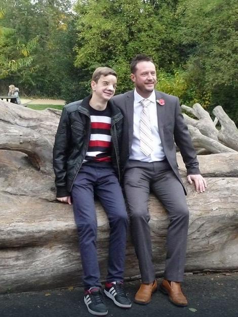 Stefan i Vejn u Londonu