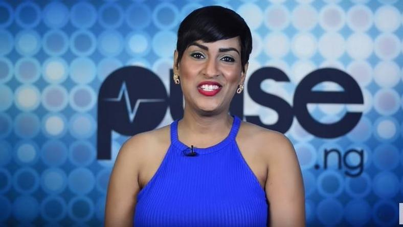Juliet Ibrahim at Pulse TV