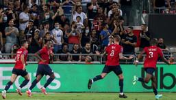 Lille's Portuguese midfielder Xeka scored the goal that beat PSG Creator: EMMANUEL DUNAND