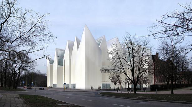 Projekt nowego gmachu filharmonii w Szczecinie, fot. UMSzczecin/Wikimedia Commons, lic. cc-by-sa