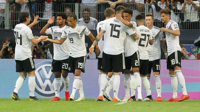 Germany rampaged to a thumping victory over Estonia in Wednesday's Euro 2020 qualifier in Mainz