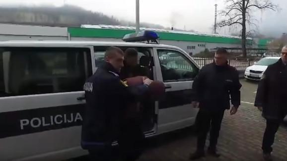 Nermin Rustempašić priveden Kantonalnom tužilaštvu