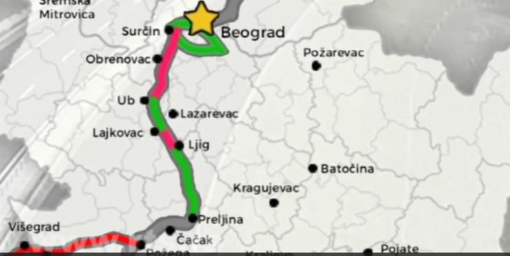 autoput Beograd-Sarajevo