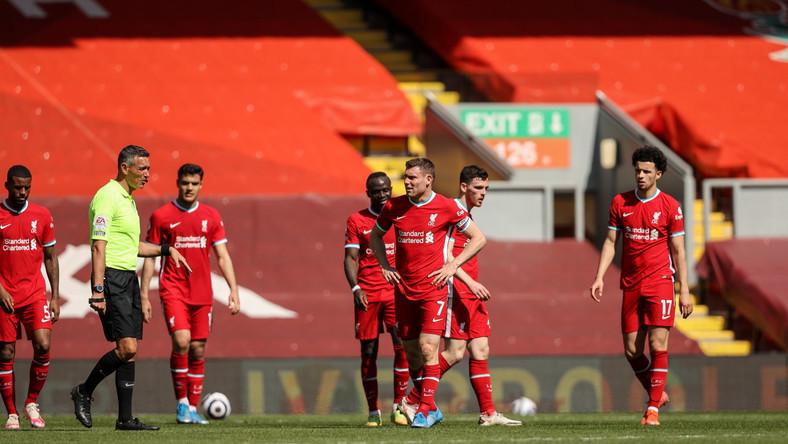 Liverpool tylko z jednym punktem
