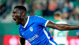 Paul Onuachu signed a one-year contract extension with Genk (Instagram/Genk)