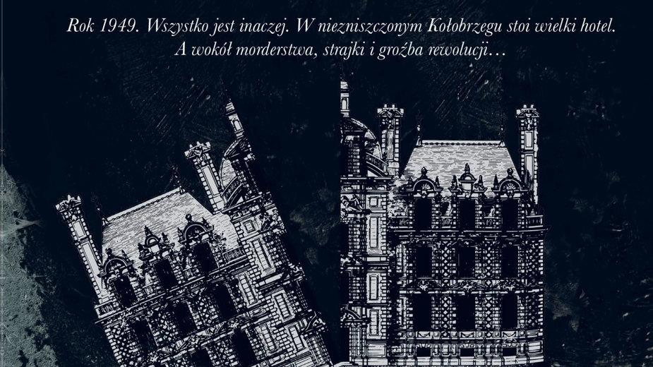 """""""Czarny Bałtyk"""", fragment okładki"""