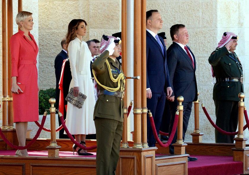 Agata Duda kontra Rania, królowa Jordanii