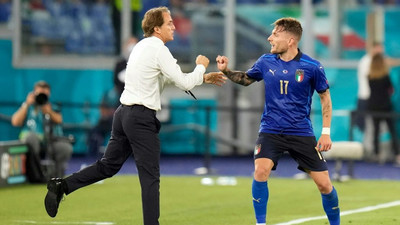Italy coach Mancini hails 'well-deserved victory'