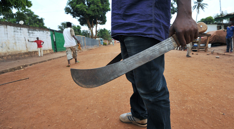 Man chops off brother's hand with machete