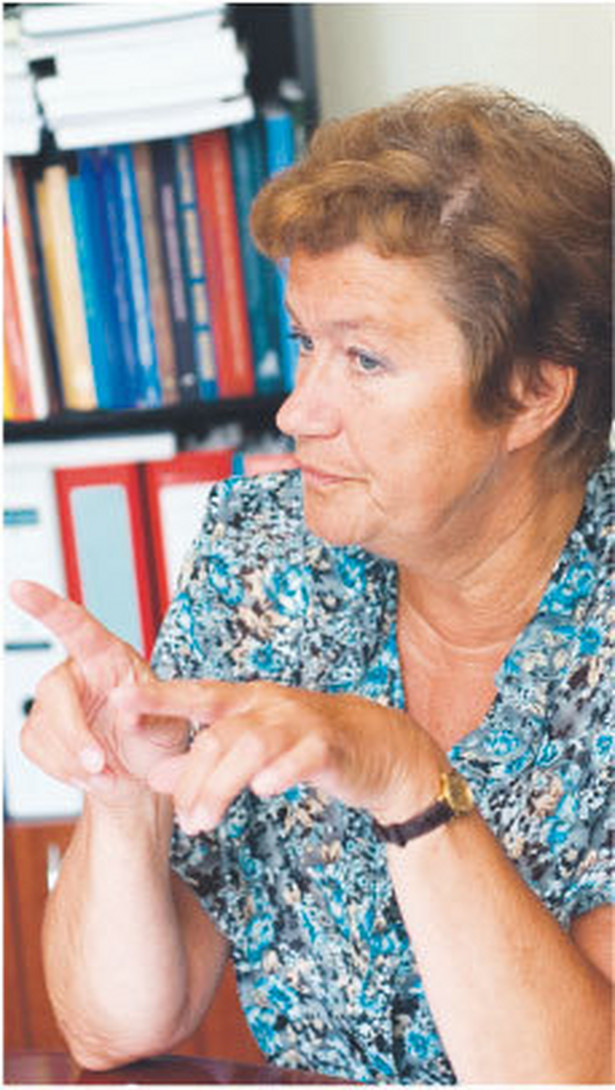 Bożenna Balcerzak-Paradowska, dr hab., dyrektor Instytutu Pracy i Spraw Socjalnych, specjalista w zakresie polityki rodzinnej Fot. Marek Matusiak