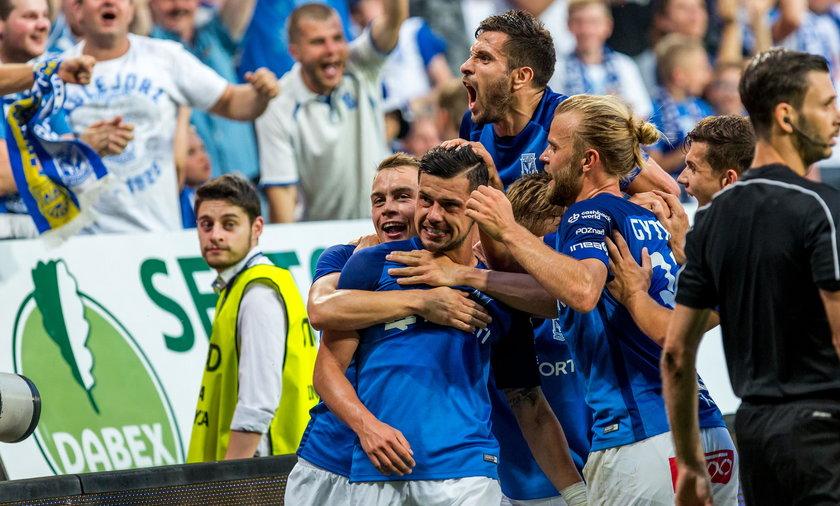 Lech Poznań awansował do kolejnej rundy Ligi Europy
