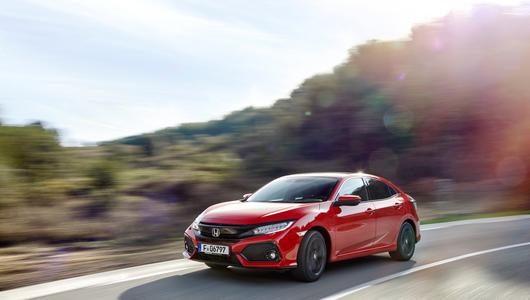 Honda Civic 2017 – Turbozmiany | Pierwsza jazda
