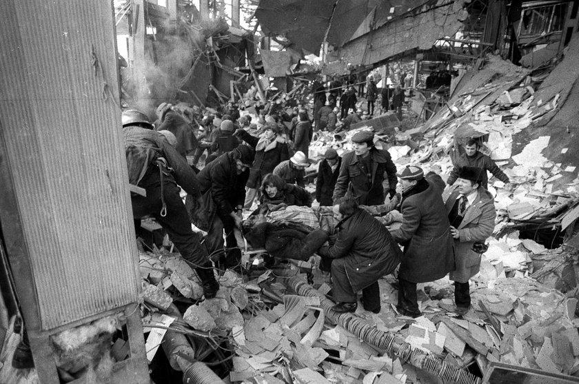 Wybuch gazu w warszawskiej Rotundzie
