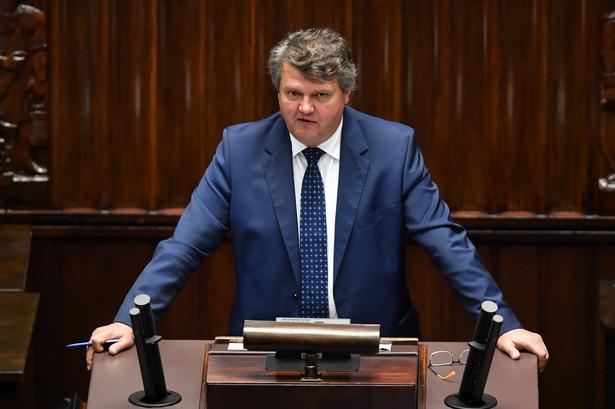Wiceminister spraw wewnętrznych i administracji Maciej Wąsik