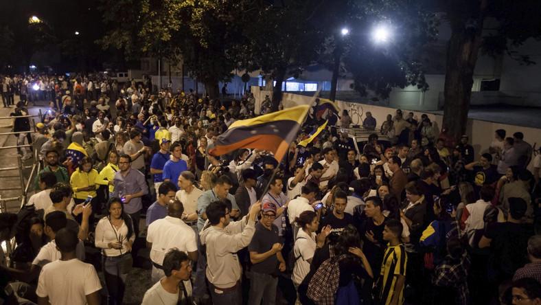 Wiec opozycji na ulicach Caracas