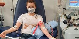 Oto postawa na medal! Dominika oddała szpik kostny dla chorej dziewczynki