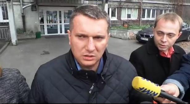Przemysław Wipler zarzucił też Bronisławowi Komorowskiemu usługową postawę wobec rządu