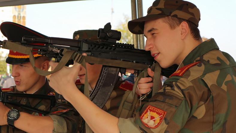 Białoruscy żołnierze
