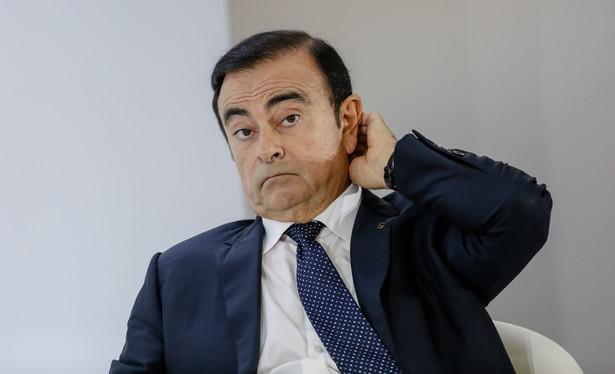 Carlos Ghosn, były prezes Nissana