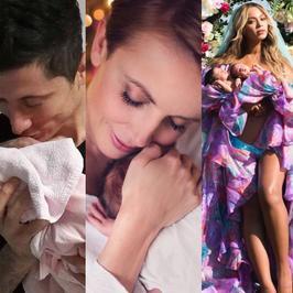 Gwiazdy, które zostały rodzicami w 2017 roku. Kto urodził? Kto został ojcem?