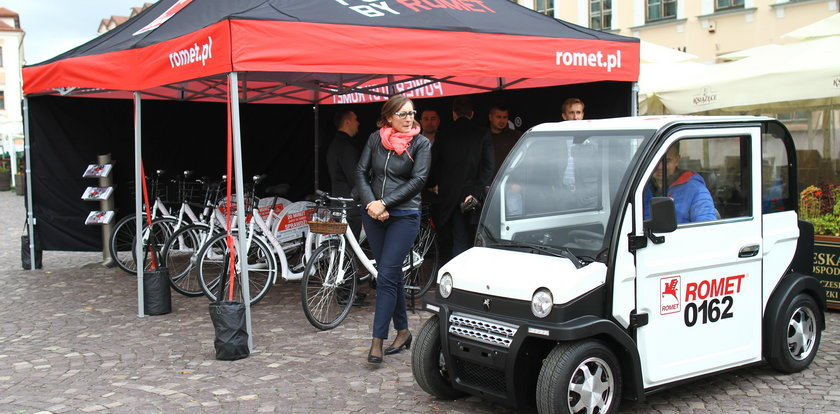 Elektryczne auta i rowery wypożyczysz w Rzeszowie