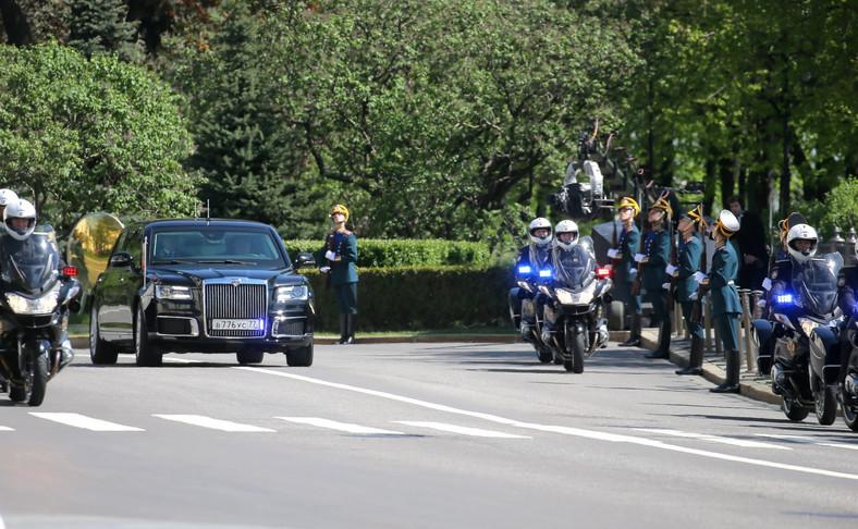 Aurus to nowa rosyjska limuzyna stworzona dla Władimira Putina