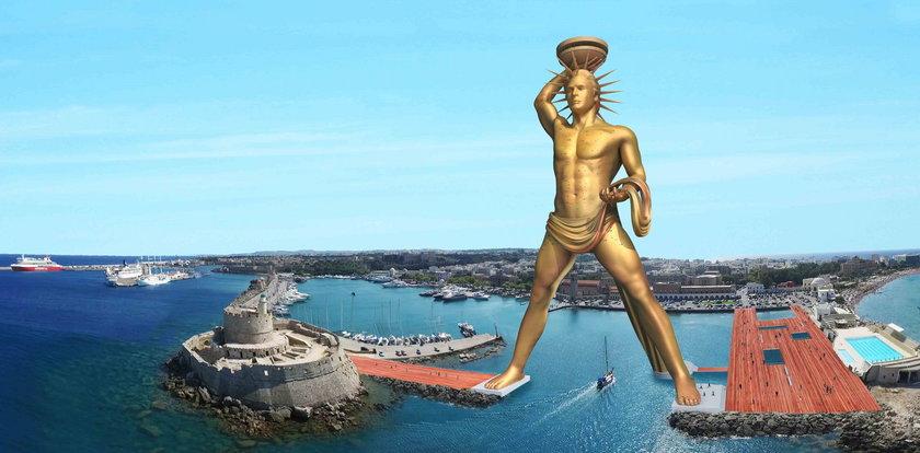 Niezwykły pomysł Grecji. Odbudują legendarny posąg