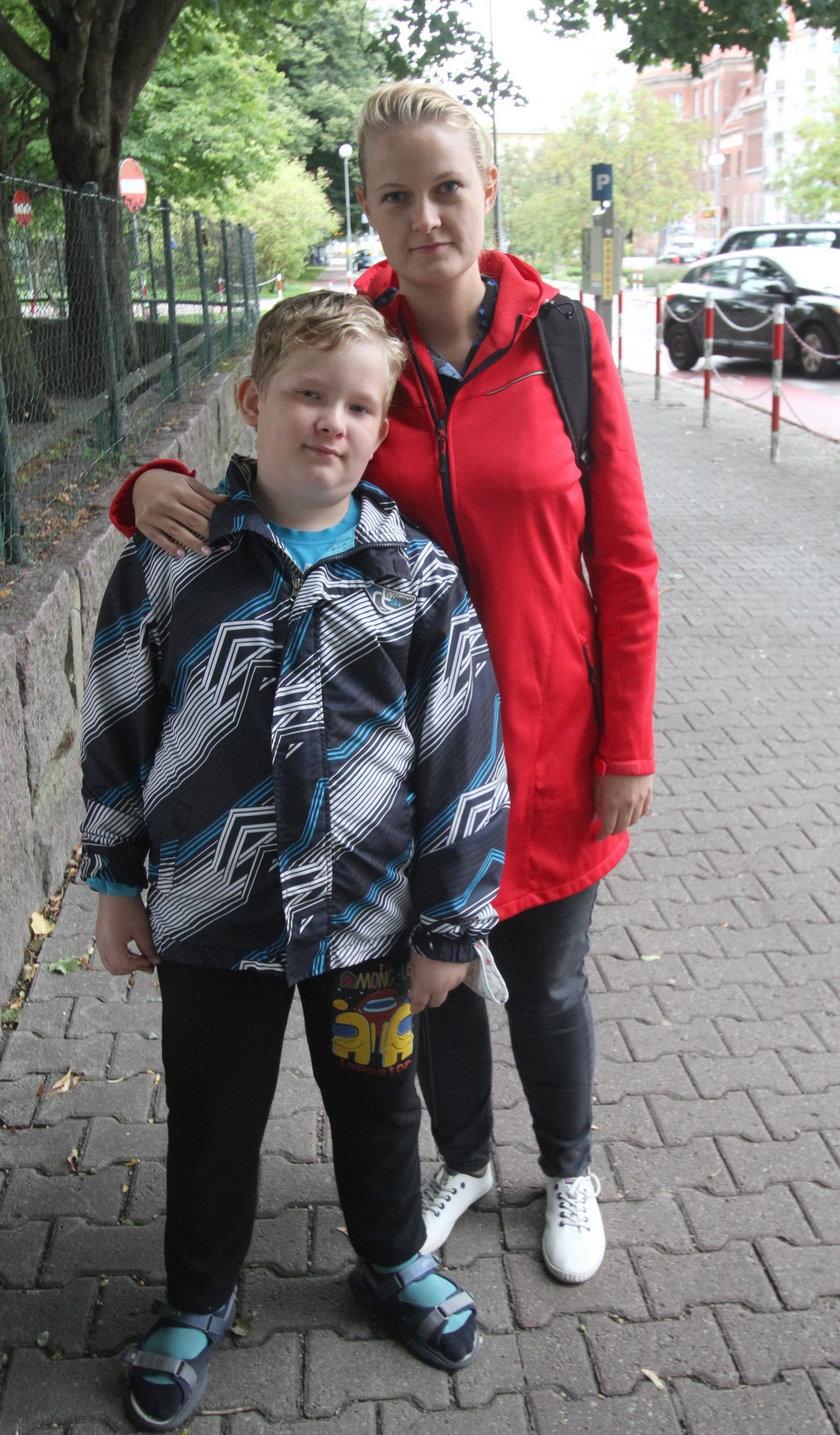 Joanna Orchowska (33 l.) z synem Kacprem (9 l.) z Konina
