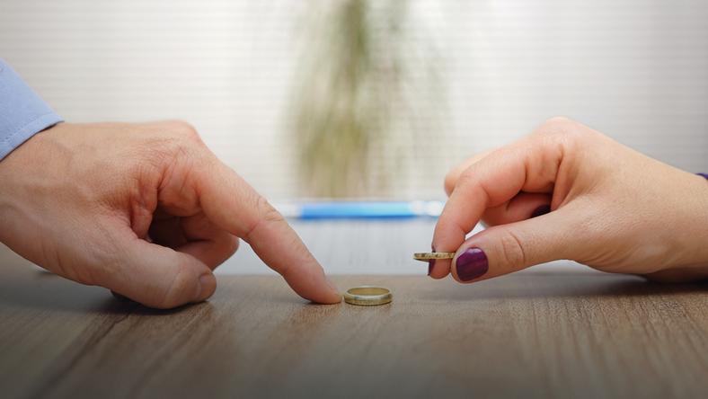 Rozwód czasem długo jest tematem tabu